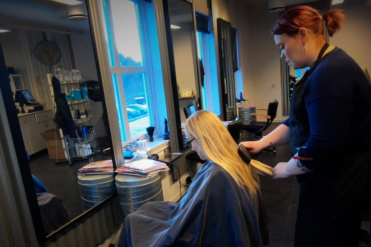 Varehuset Årnes Handel - frisør